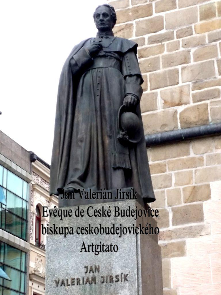 Jan Valerián Jirsík Evaque de Ceske Budejovice biskupa ceskobudejovickeho artgitato