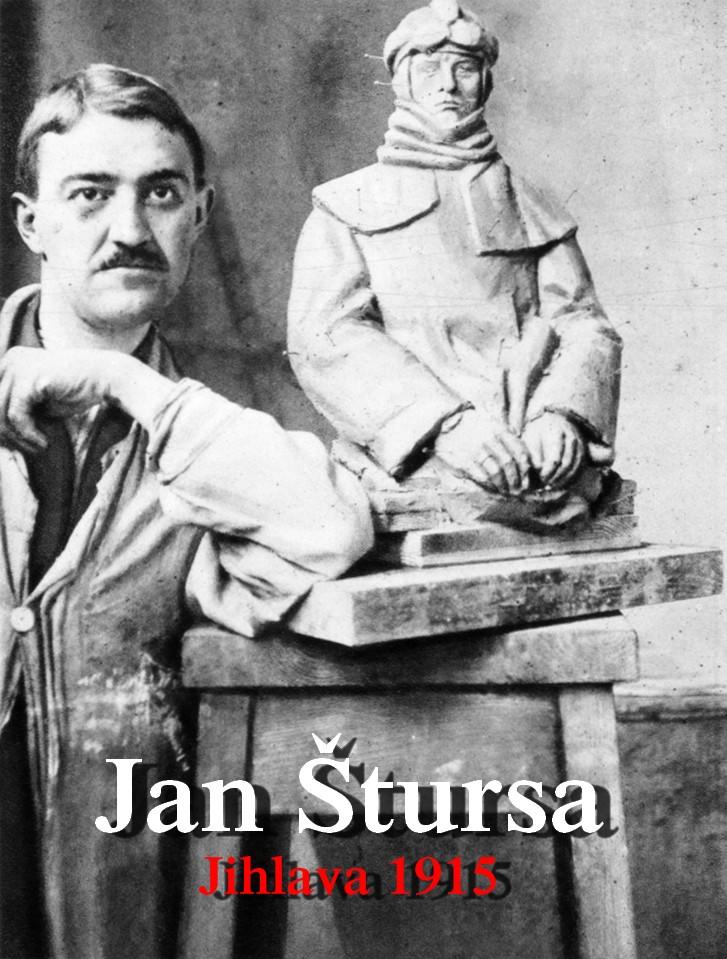 Jan_Stursa_1915 Jan Štursa 1880-1925 Jihlava 1915