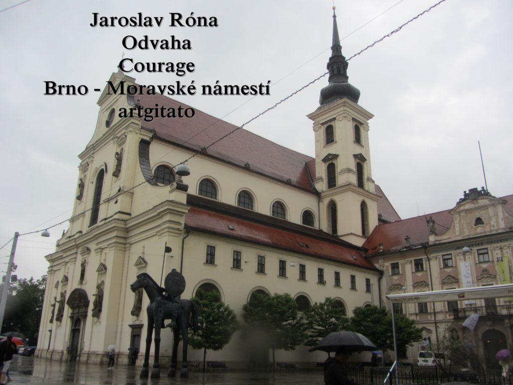 Jaroslav Róna Odvaha Courage Brno Moravské náměstí artgitato (4)