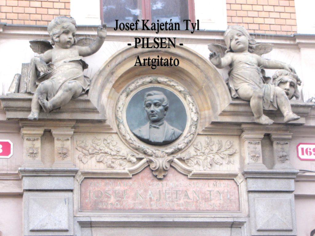 Josef Kajetán Tyl Plzen Pilsen Artgitato 1