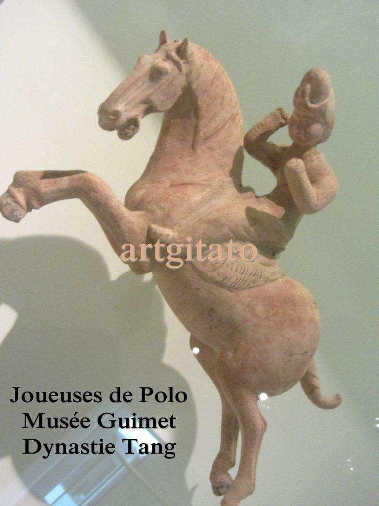 Joueuses de Polo Musée Guimet Paris Art Tang Artgitato 3