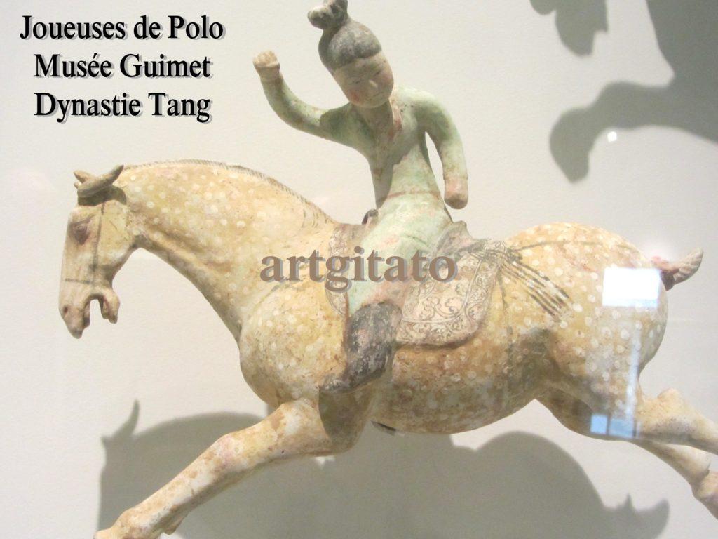 Joueuses de Polo Musée Guimet Paris Art Tang Artgitato 4