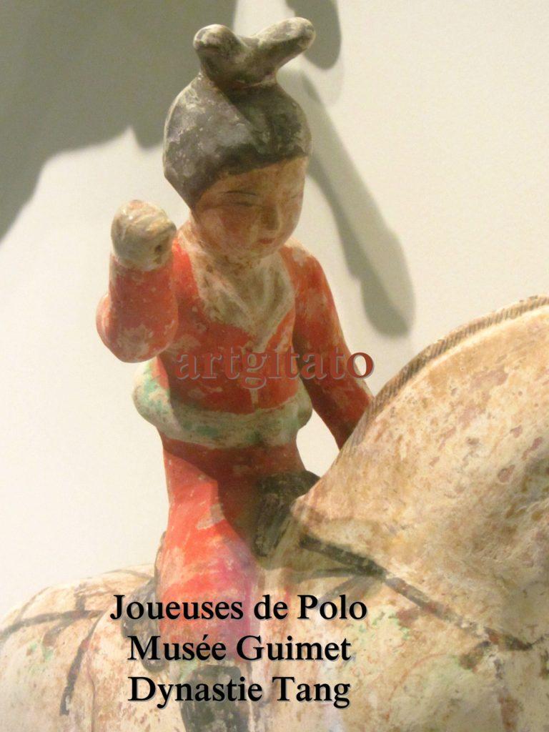 Joueuses de Polo Musée Guimet Paris Art Tang Artgitato 5