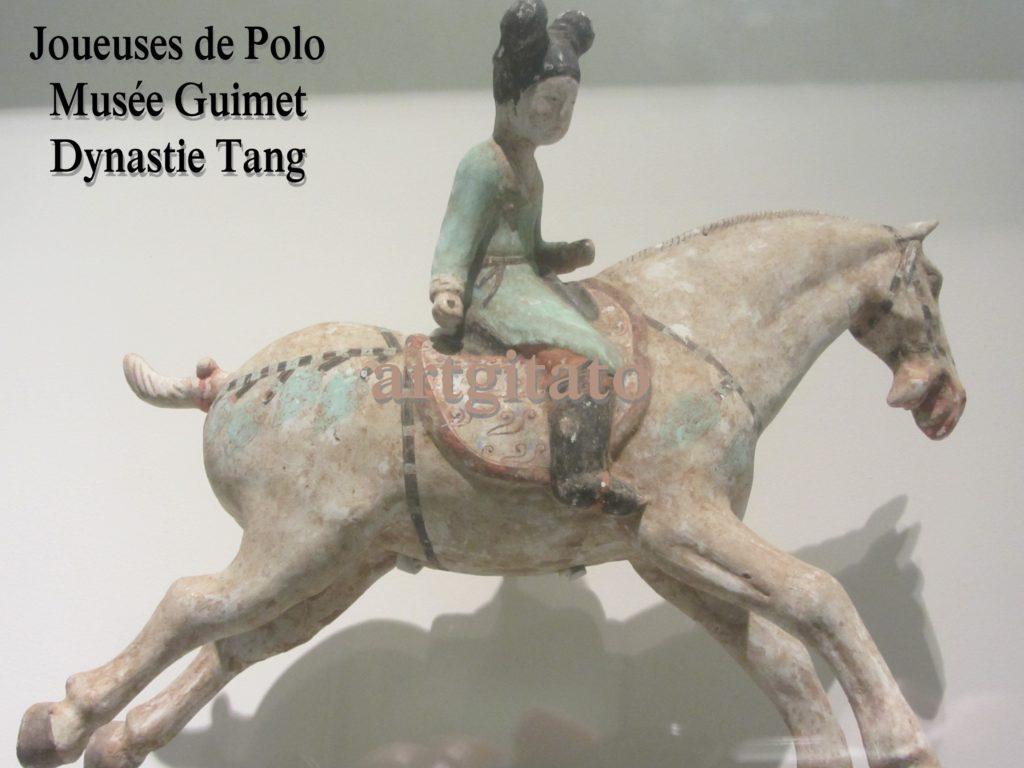 Joueuses de Polo Musée Guimet Paris Art Tang Artgitato 6