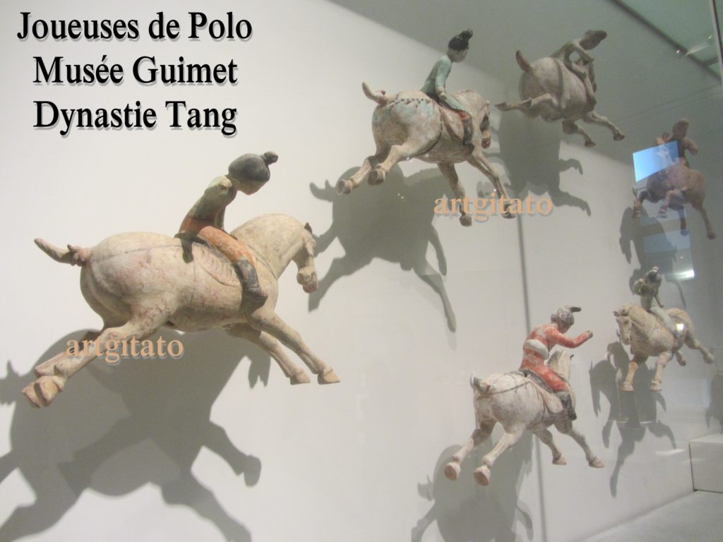 Joueuses de Polo Musée Guimet Paris Art Tang Artgitato 7