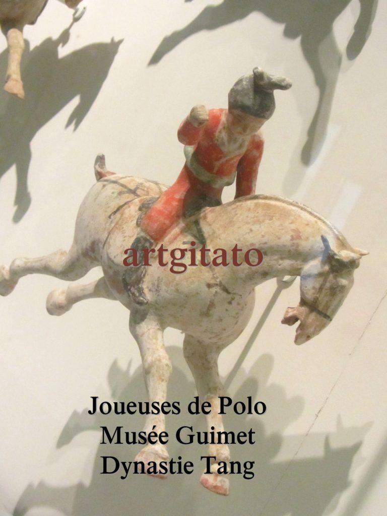 Joueuses de Polo Musée Guimet Paris Art Tang Artgitato