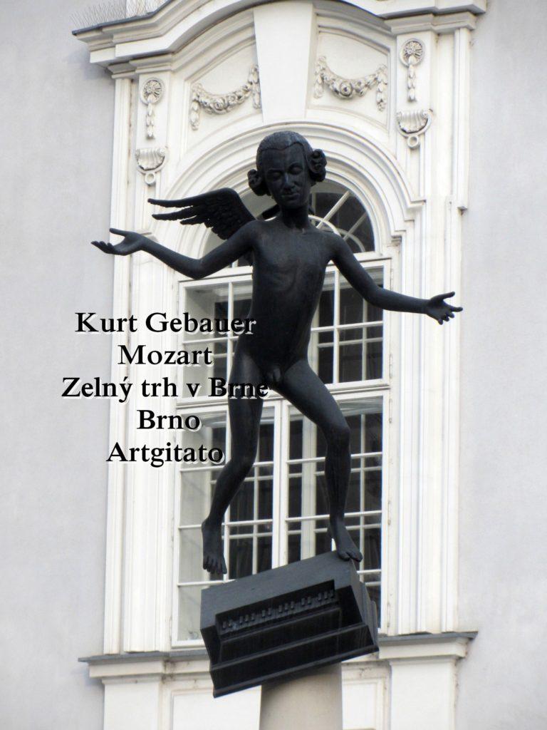 Kurt Gebauer - Mozart - Zelný trh v Brne- Brno Artgitato 2