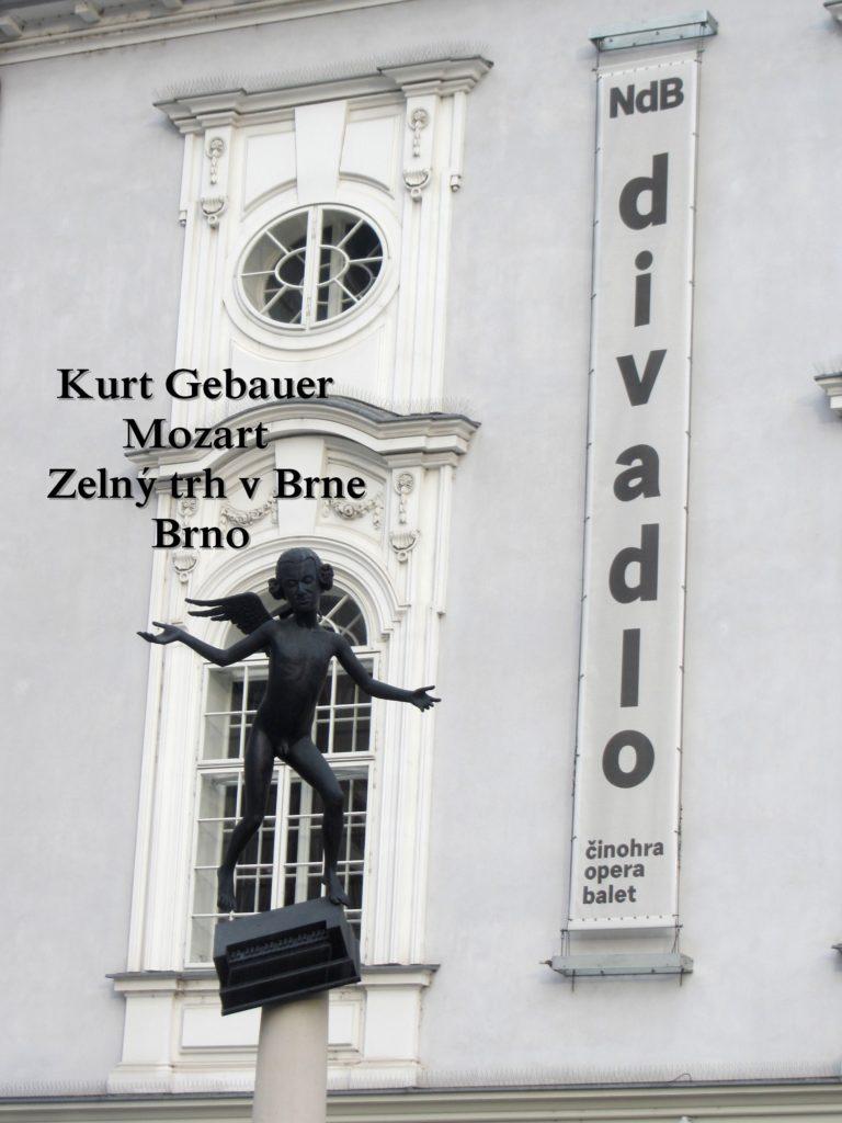 Kurt Gebauer - Mozart - Zelný trh v Brne- Brno Artgitato