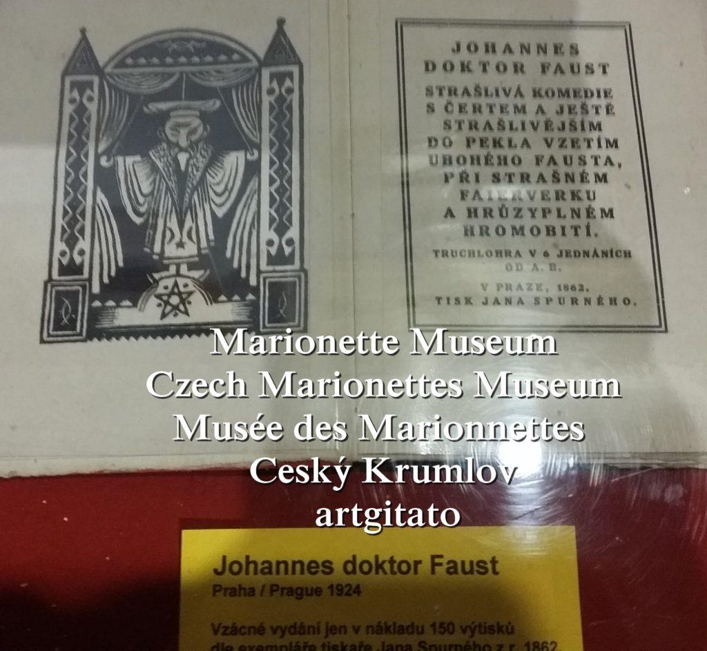 Marionette Museum Czech Marionettes Museum Musée des Marionnettes Cesky Krumlov artgitato (171)