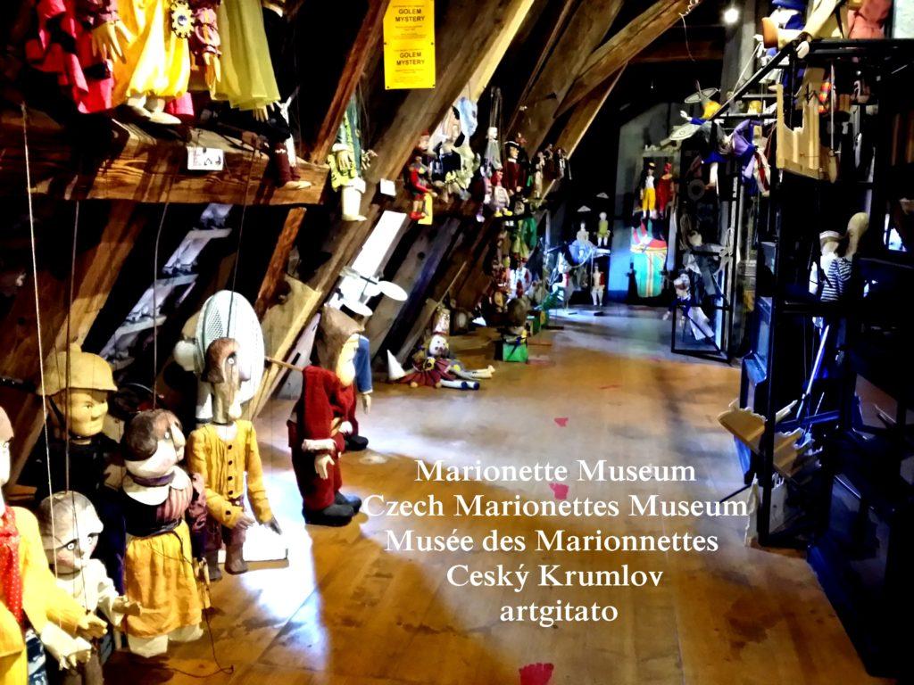 Marionette Museum Czech Marionettes Museum Musée des Marionnettes Cesky Krumlov artgitato (173)