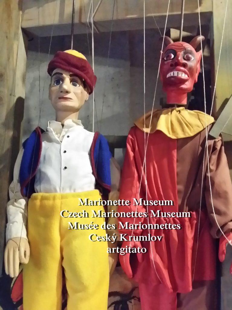 Marionette Museum Czech Marionettes Museum Musée des Marionnettes Cesky Krumlov artgitato (31)
