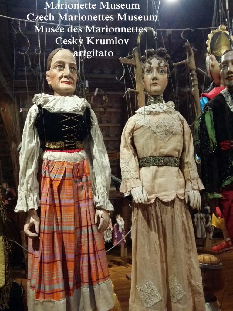 Marionette Museum Czech Marionettes Museum Musée des Marionnettes Cesky Krumlov artgitato (50)