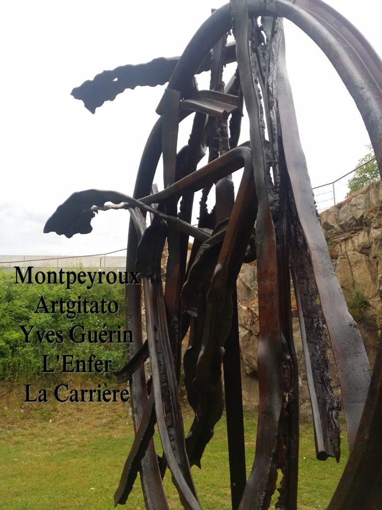 Montpeyroux Artgitato Yves Guérin L'Enfer La Carrière 5