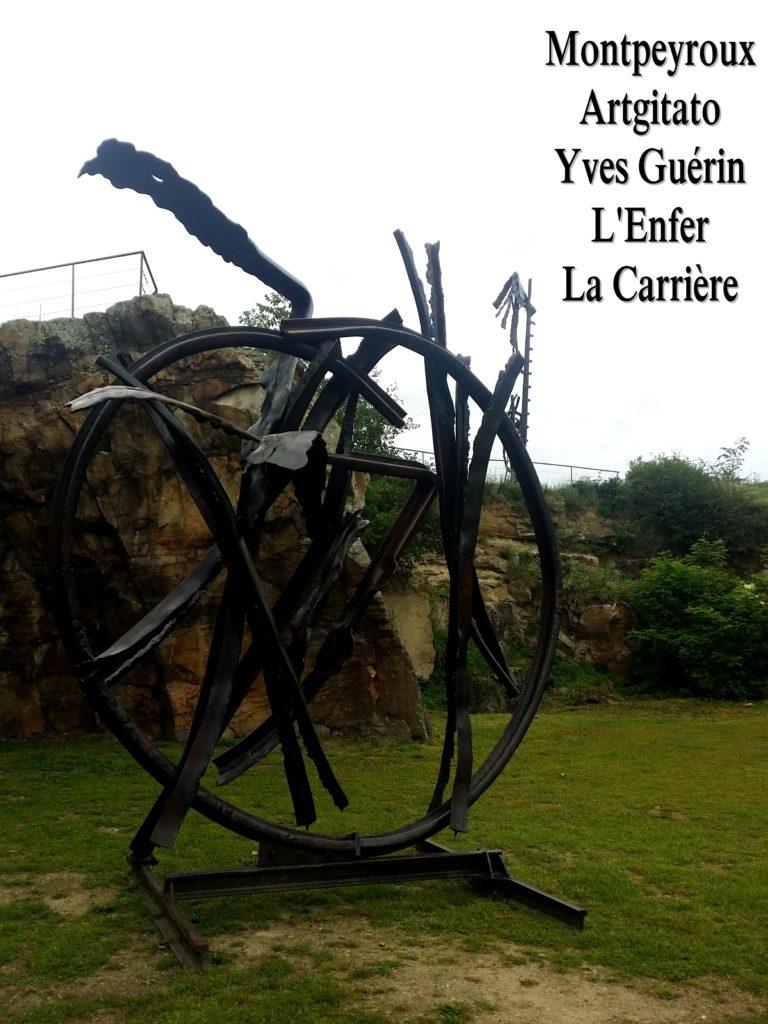 Montpeyroux Artgitato Yves Guérin L'Enfer La Carrière 7