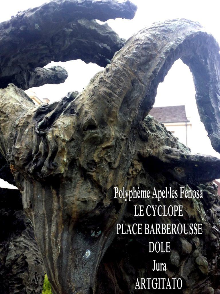 Polyphème Apel·les Fenosa Dole Place Barberousse Artgitato Ulysse 2