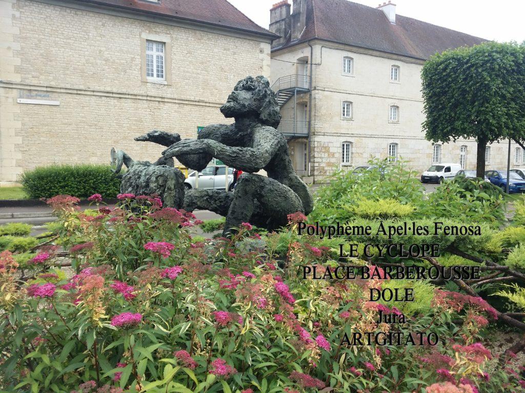 Polyphème Apel·les Fenosa Dole Place Barberousse Artgitato Ulysse 5