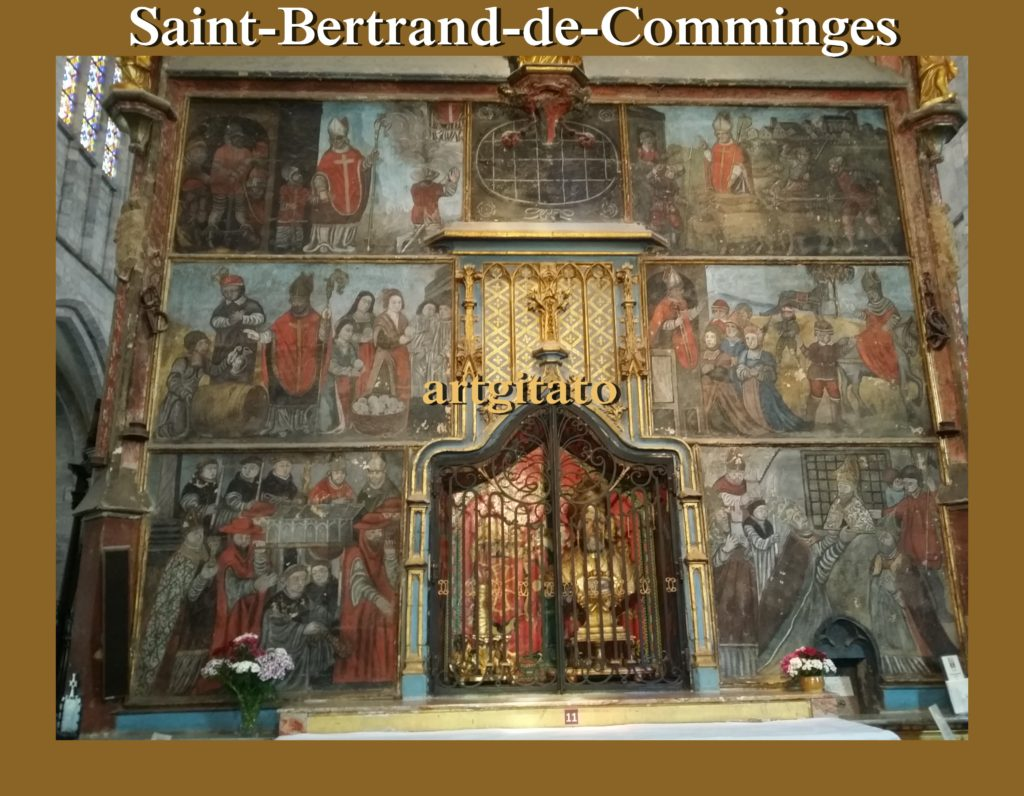 Saint-Bertrand-de-Comminges France Pyrénées Artgitato 123