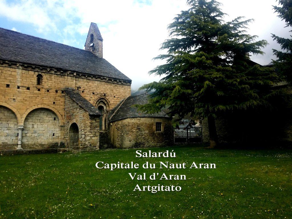 Salardú Capitale du Naut Aran Val d'Aran Artgitato Pyrénées Espagne 1