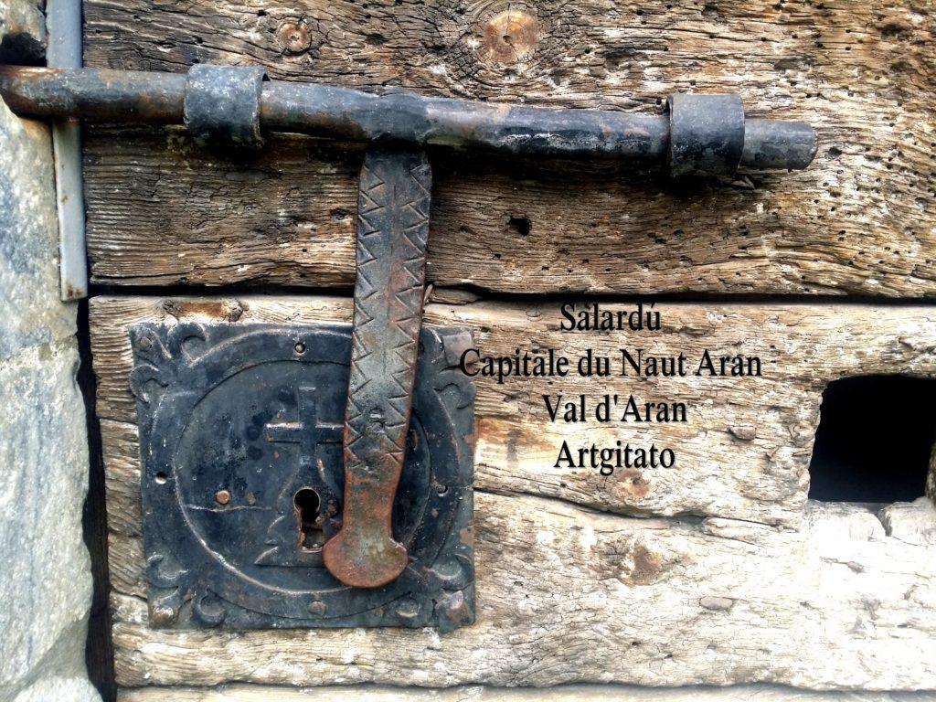 Salardú Capitale du Naut Aran Val d'Aran Artgitato Pyrénées Espagne 14