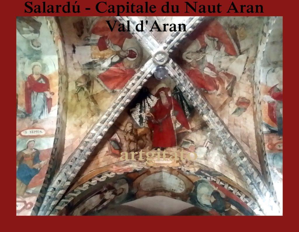 Salardú Capitale du Naut Aran Val d'Aran Artgitato Pyrénées Espagne 19
