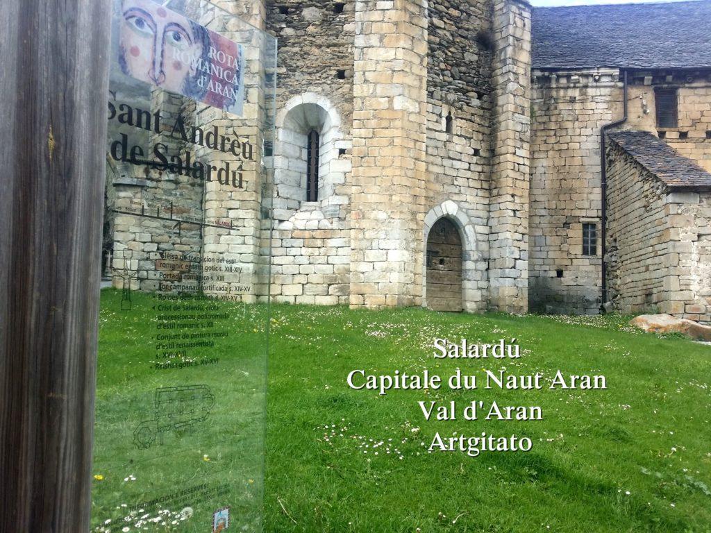 Salardú Capitale du Naut Aran Val d'Aran Artgitato Pyrénées Espagne 2