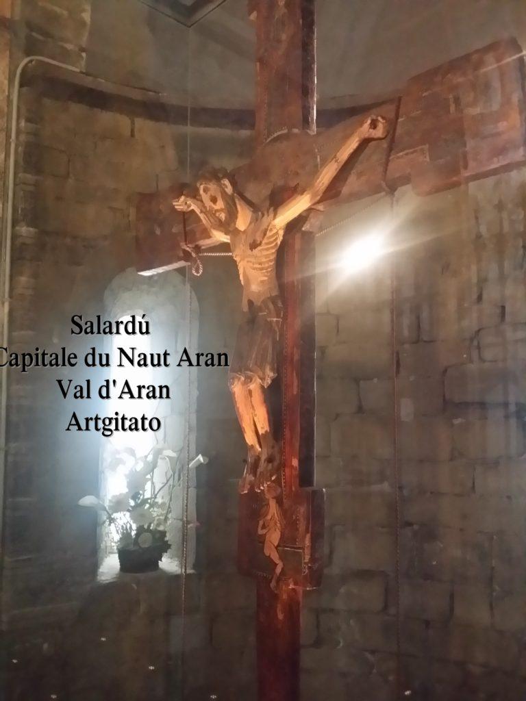 Salardú Capitale du Naut Aran Val d'Aran Artgitato Pyrénées Espagne 23