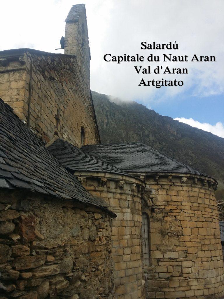 Salardú Capitale du Naut Aran Val d'Aran Artgitato Pyrénées Espagne 25