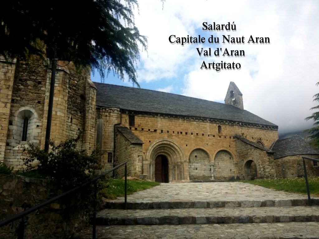 Salardú Capitale du Naut Aran Val d'Aran Artgitato Pyrénées Espagne 3