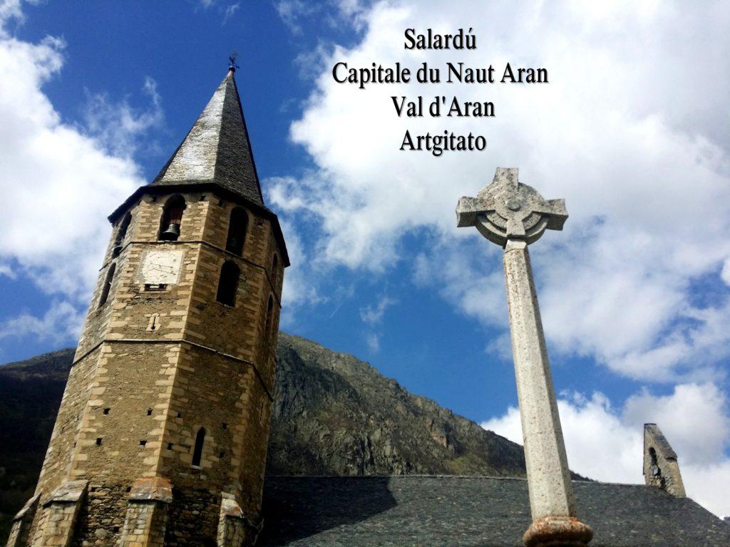 Salardú Capitale du Naut Aran Val d'Aran Artgitato Pyrénées Espagne 30