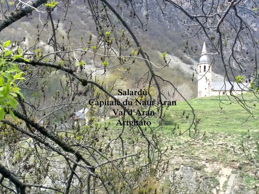 Salardú Capitale du Naut Aran Val d'Aran Artgitato Pyrénées Espagne 31