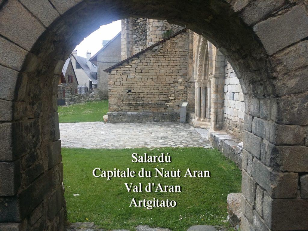 Salardú Capitale du Naut Aran Val d'Aran Artgitato Pyrénées Espagne 8