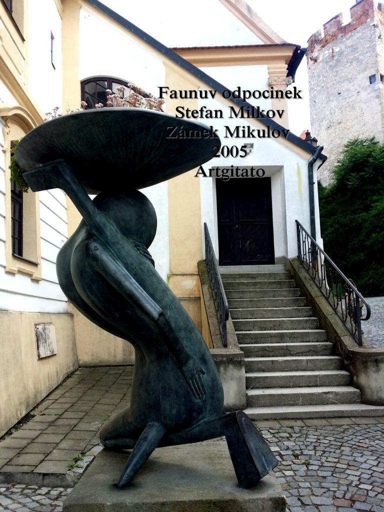 Stefan Milkov Mikulov Artgitato Mikulov Faunuv odpocinek (1)