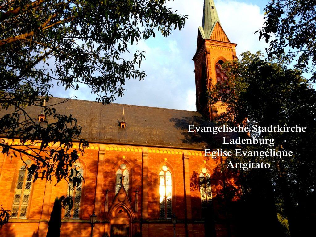Evangelische Stadtkirche Ladenburg l'Eglise Evangélique de Ladenburg Artgitato (3)