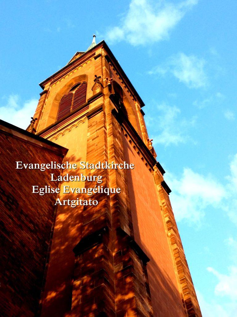 Evangelische Stadtkirche Ladenburg l'Eglise Evangélique de Ladenburg Artgitato (5)