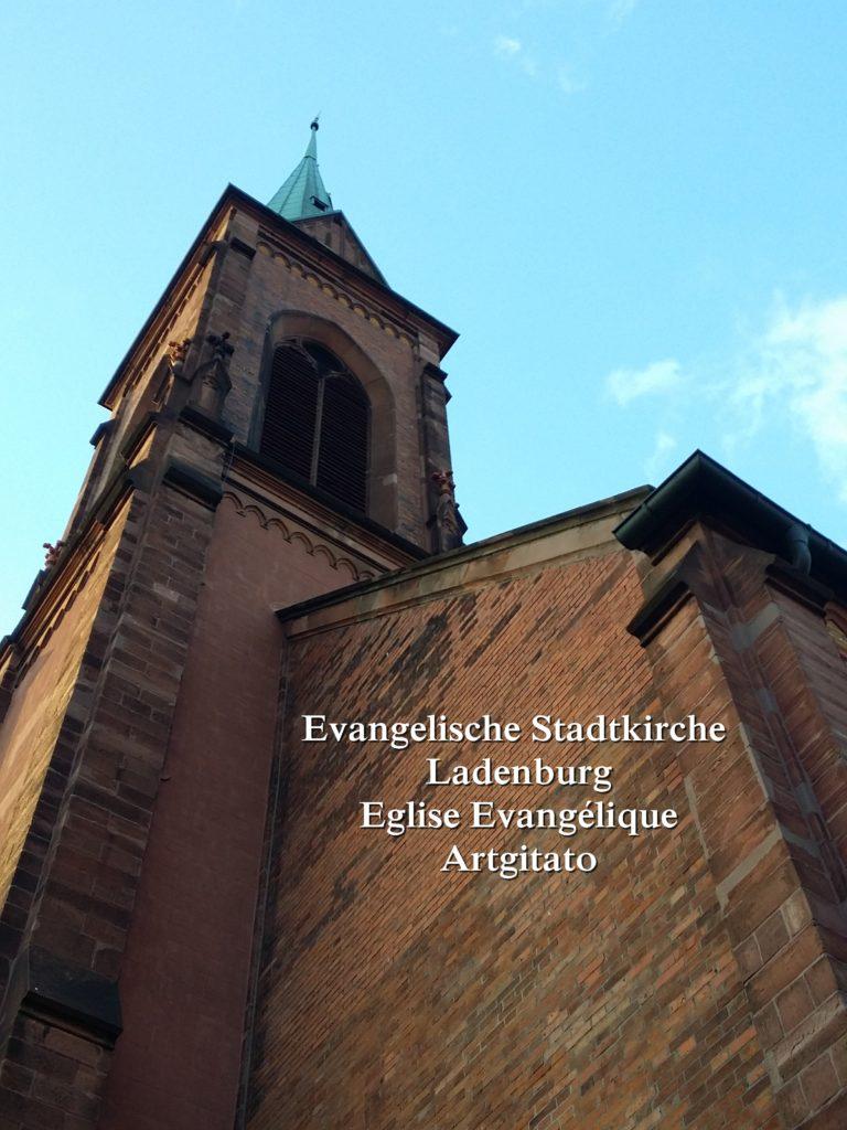 Evangelische Stadtkirche Ladenburg l'Eglise Evangélique de Ladenburg Artgitato (6)