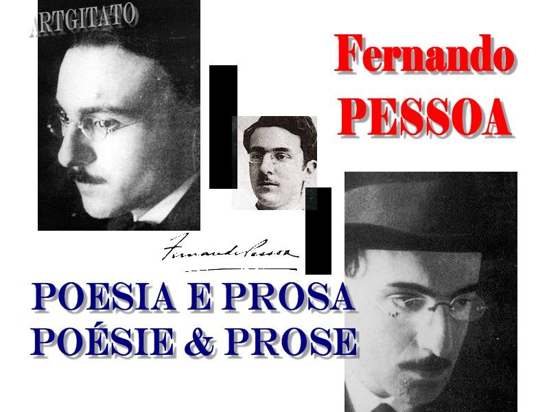 Fernando Pesso Literatura Português Poesia e Prosa Poésie et Prose Artgitato