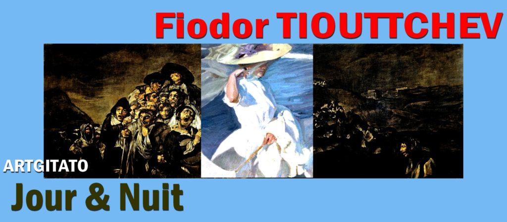 Fiodor TIOUTTCHEVJour et Nuit Poème de Fiodor Tiouttchev Artgitato Goya Sorolla