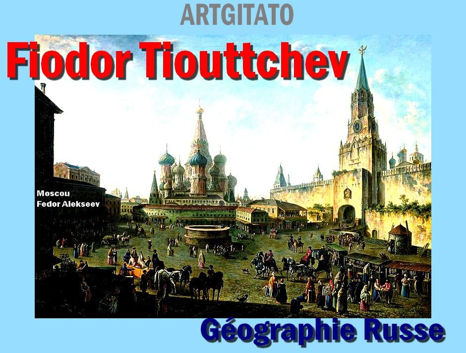 Géographie Russe de Fiodor Tiouttchev Artgitato 1801 Fedor Alekseev