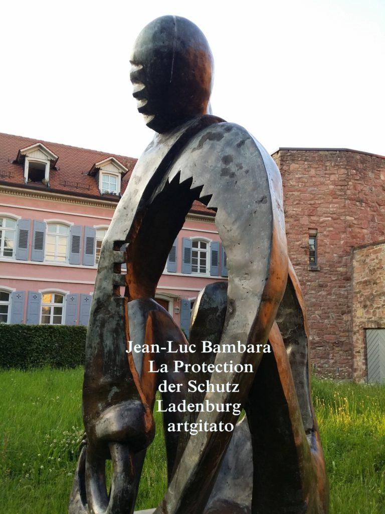 Jean-Luc Bambara La Protection der schutz - Ladenburg -artgitato (2)