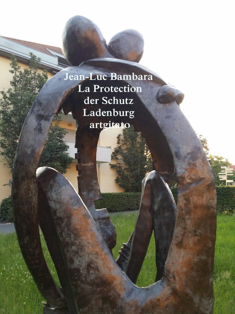 Jean-Luc Bambara La Protection der schutz - Ladenburg -artgitato (3)
