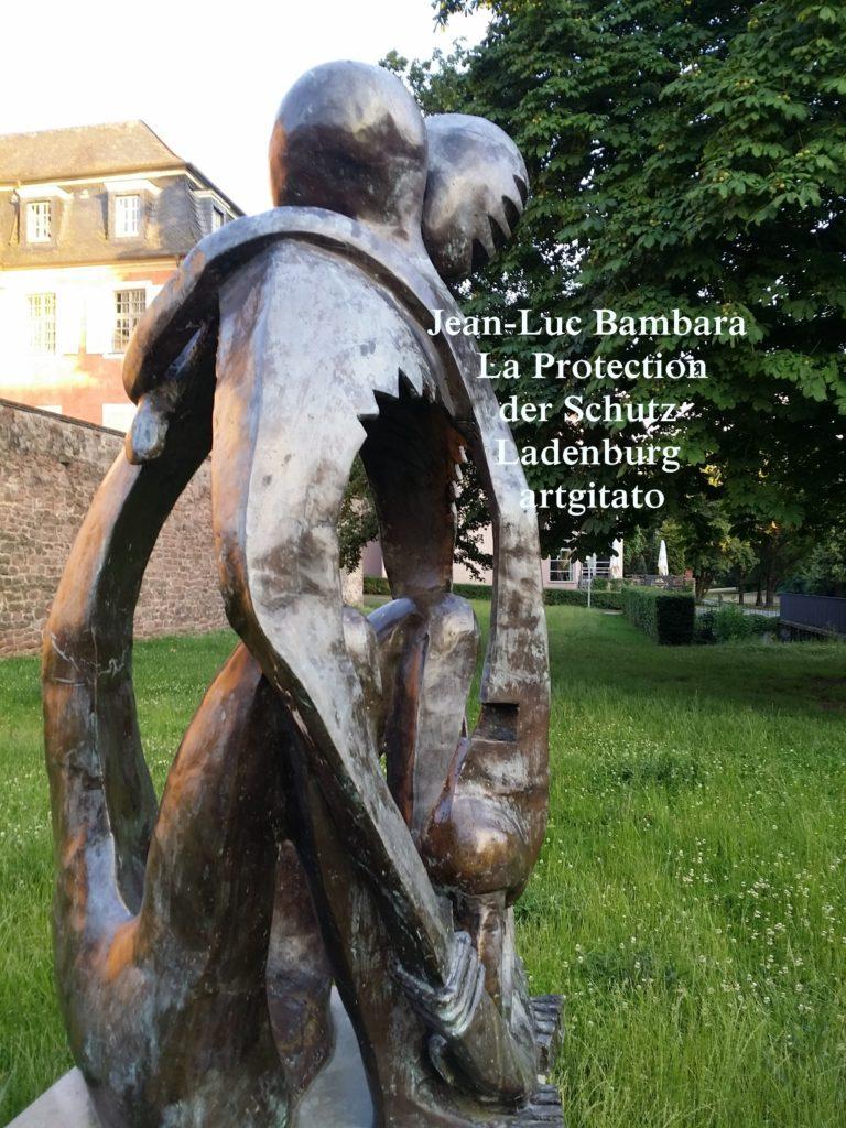 Jean-Luc Bambara La Protection der schutz - Ladenburg -artgitato (4)