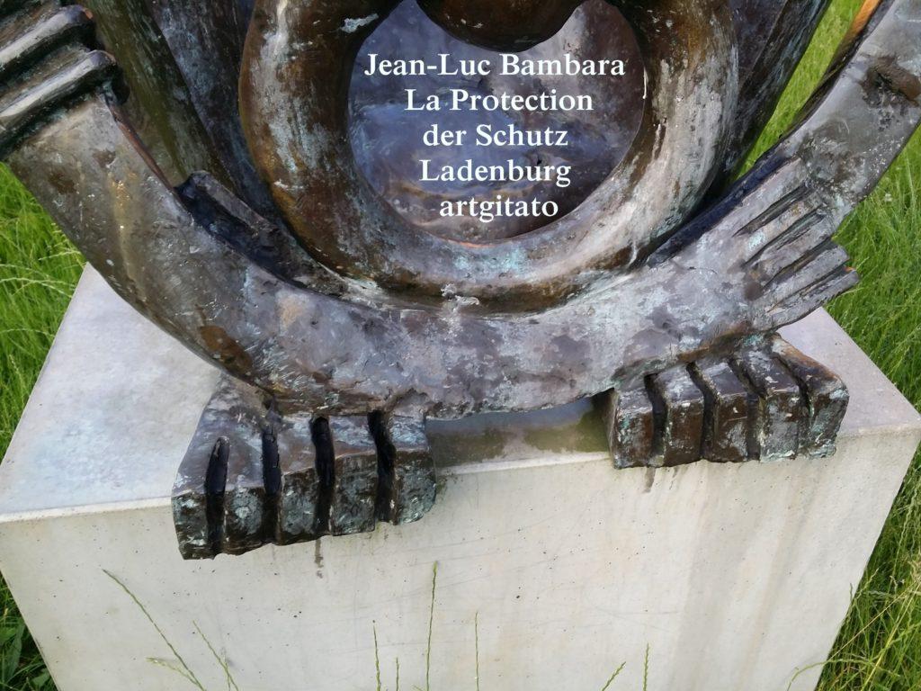 Jean-Luc Bambara La Protection der schutz - Ladenburg -artgitato (6)