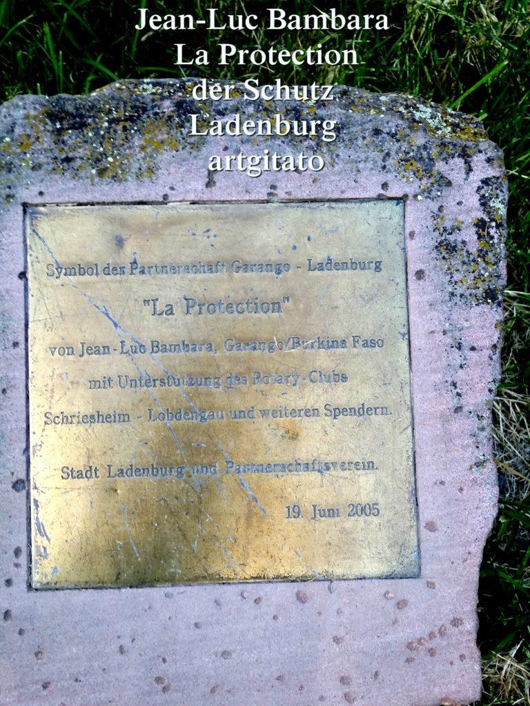 Jean-Luc Bambara La Protection der schutz - Ladenburg -artgitato (8)