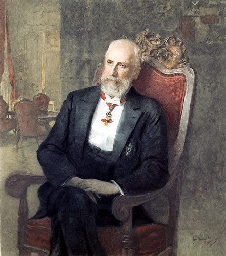 Johann II von Liechtenstein Jean II de Liechtenstein par John Quincy Adams