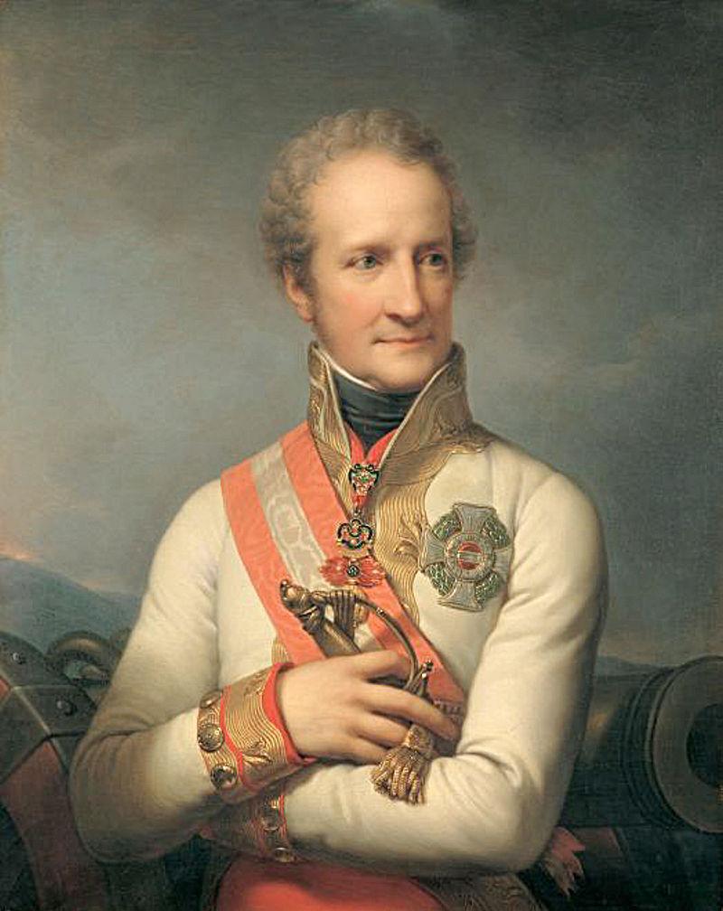Johann Josef Ier de Liechtenstein par Johann Baptist von Lampi