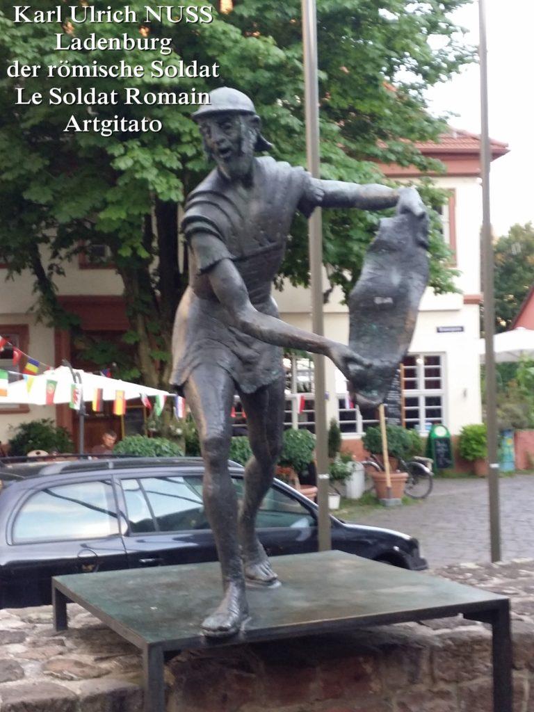 Karl Ulrich NUSS- Ladenburg der römische Soldat - Le Soldat Romain Artgitato (4)