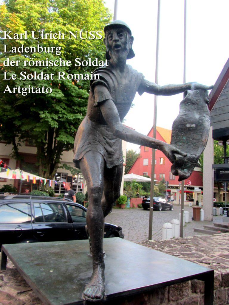 Karl Ulrich NUSS- Ladenburg der römische Soldat - Le Soldat Romain Artgitato (5)