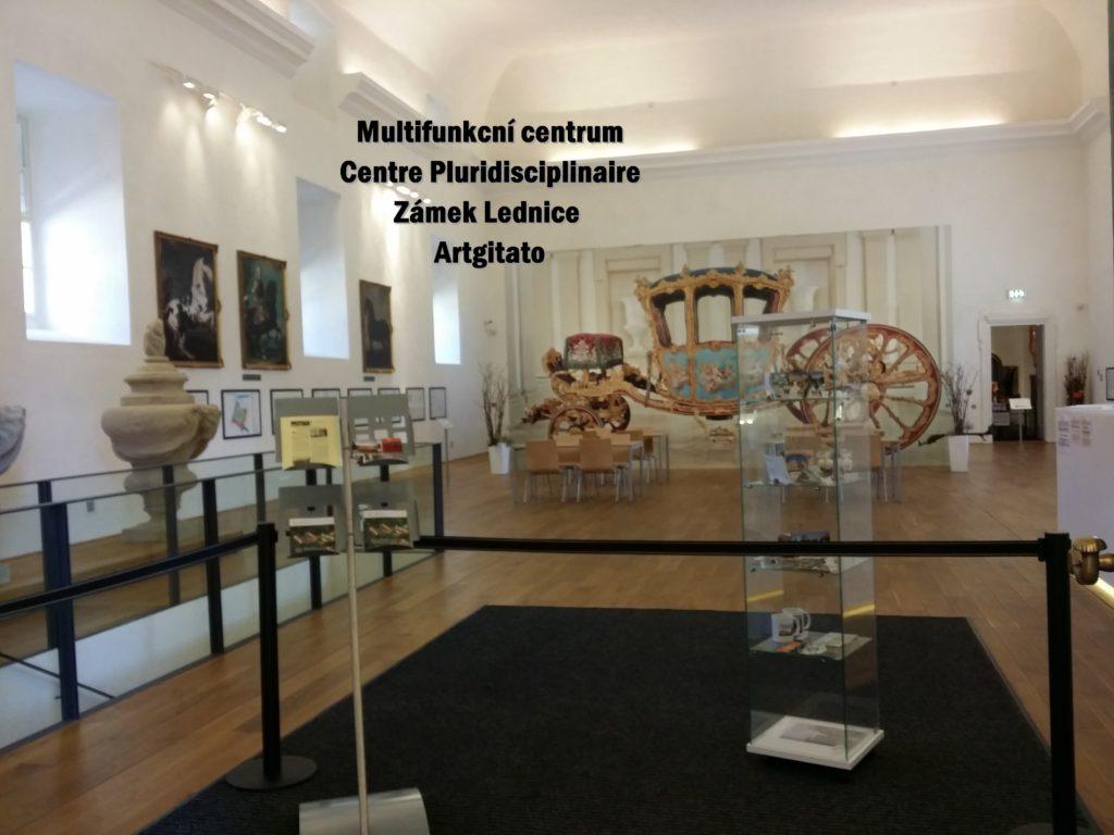 LEDNICE Centre Pluridisciplinaire - Multifunkční centrum zámek Lednice MORAVIE DU SUD Artgitato (7)