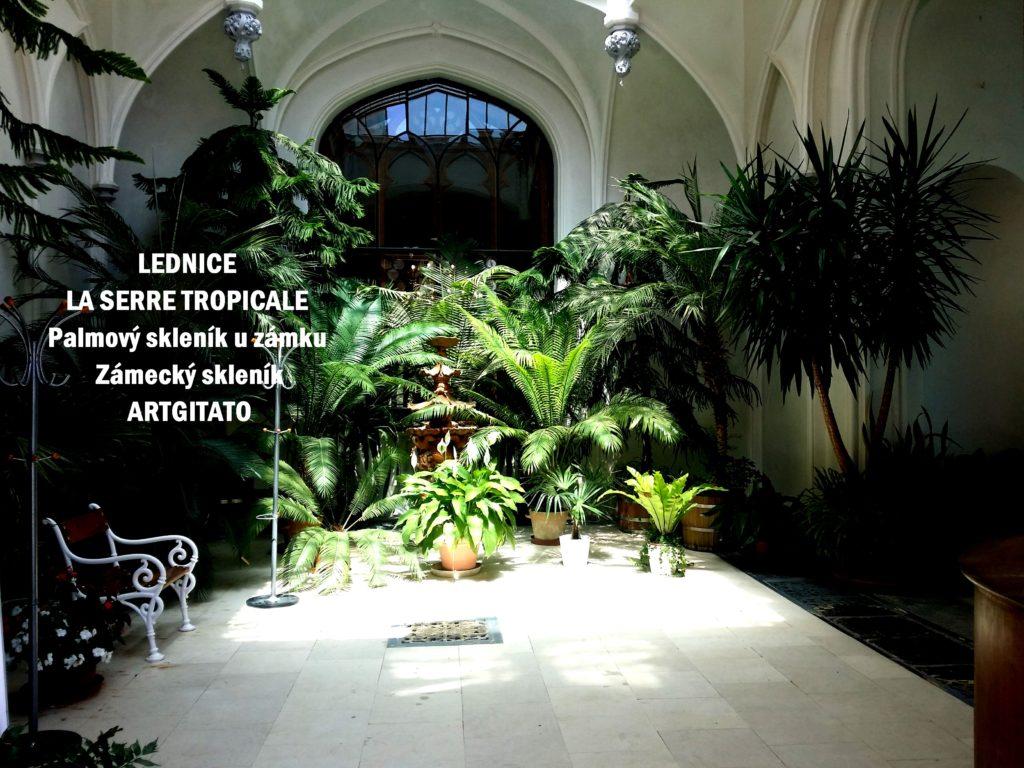 LEDNICE LA SERRE TROPICALE - Palmový skleník u zámku - Zámecký skleník Artgitato (2)