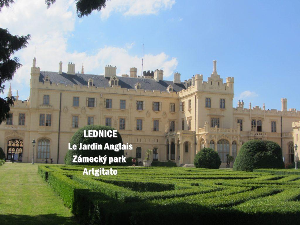 LEDNICE Le Jardin Anglais Zámecký park - MORAVIE DU SUD Artgitato Château de Lednice (11)